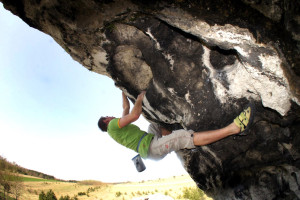 Bouldering w wapieniu