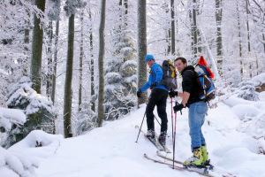 Gorce skitouring