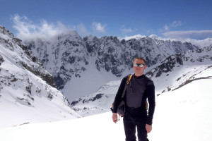 Z tury na Rysy, powyżej przełęczy Waga