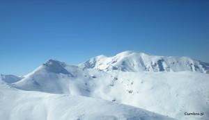 czerwone wierchy skitouring
